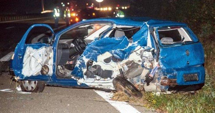 Kazalarda 1 ölü 5 yaralı