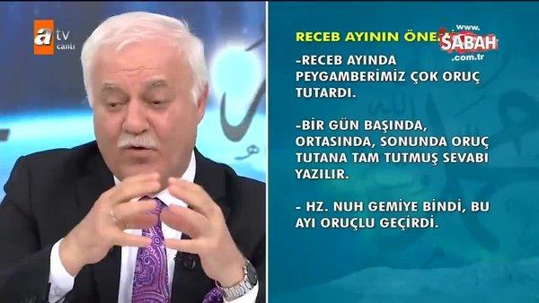Nihat Hatipoğlu ile Regaib Kandili özel programı Regaip Gecesi Özel Duası | Video