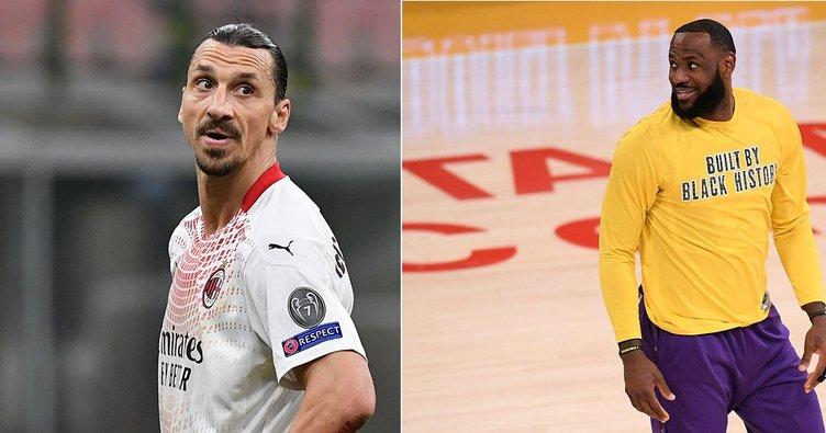Lebron James'ten Ibrahimovic'e: Zlatan'ın bunları söylemesi komik