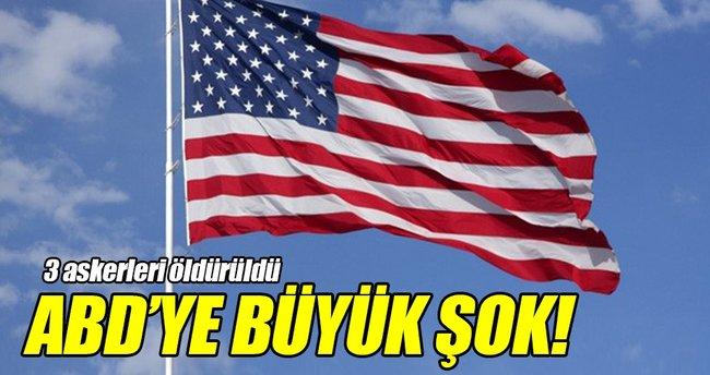 ABD'nin üç askeri Ürdün'de öldürüldü