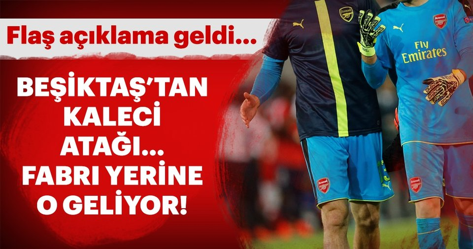 Beşiktaş'ta Fabri'nin yerine o geliyor