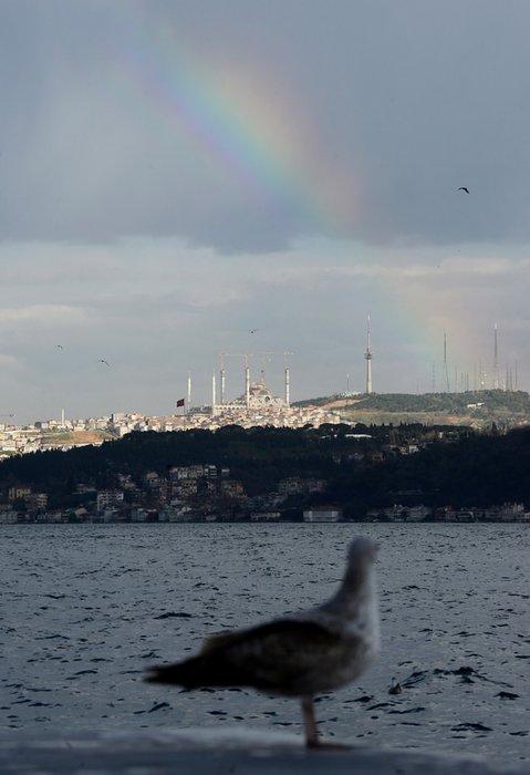 İstanbul Boğazı'nda kartpostallık görüntüler