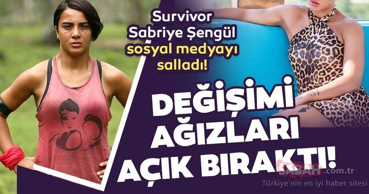 Survivor'daki halinden eser yok! Survivor Sabriye Şengül değişimi ile dudak uçuklattı!