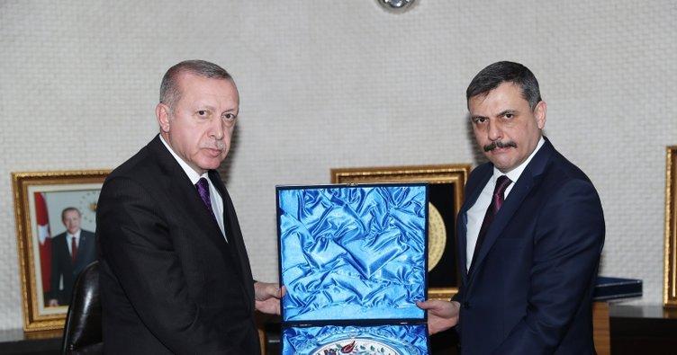 Cumhurbaşkanı Erdoğan Çorum'da