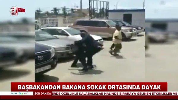 Gine Devlet Başkanı, Çalışma Bakanı'nı sokak ortasında tekme tokat dövdü | Video