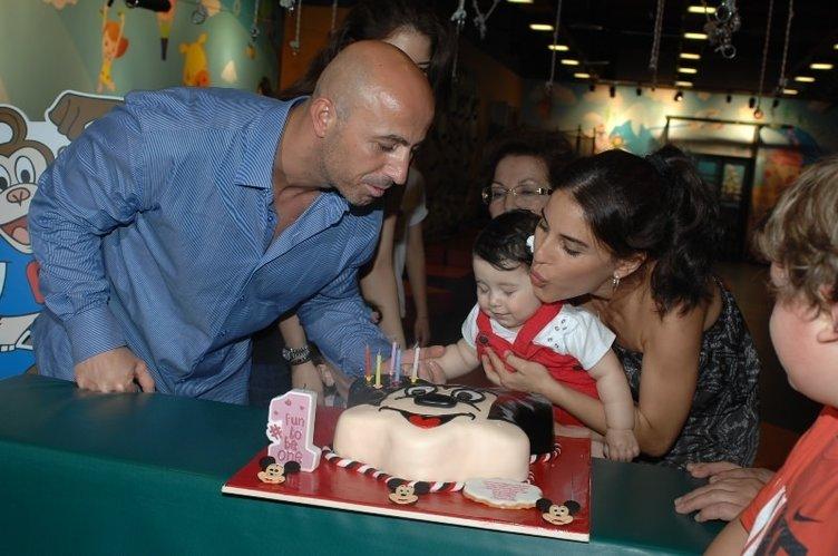 Irmak Ünal'ın kızının yaş günü partisinden kareler