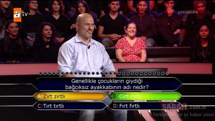 Verdiği cevap herkesi şoke etti! Kim Milyoner Olmak İster 844. bölüm soru ve cevapları