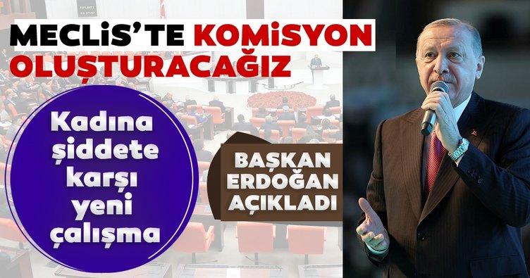 Son dakika: Başkan Erdoğan açıkladı! Meclis'te yeni bir komisyon oluşturacağız