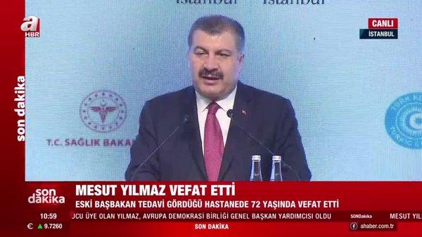 Sağlık BakanıFahrettin Koca'danTürk Konseyi Sağlık Bilim Kurulu Toplantısı'nda önemli açıklamalar | Video