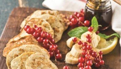 Şekersiz Glutensiz Muzlu Pancake