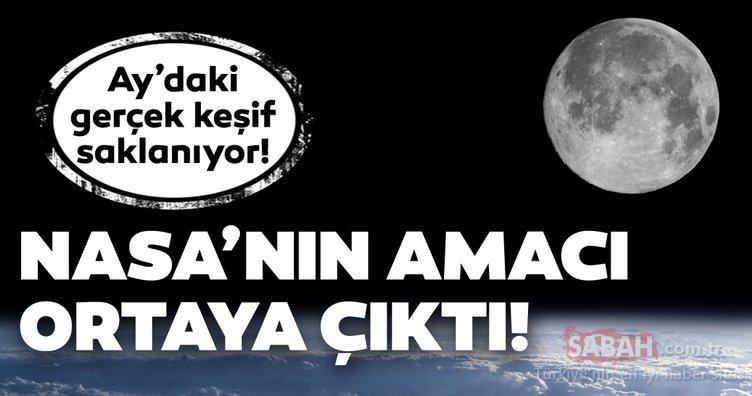 Ay'daki gerçek keşif açığa çıkıyor! NASA'nın Ay'a gitme sebebi ortaya çıktı! O karanlık nokta tüyler ürpertti