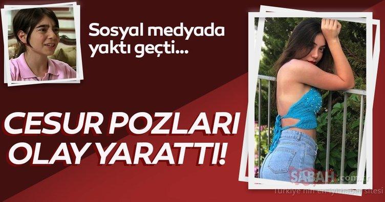 Alemin Kıralı'nın Oben'i Birsu Demir'in pembe iç çamaşırıyla verdiği cesur pozlarla sosyal medyayı salladı! Bu kez bildiğiniz gibi değil!
