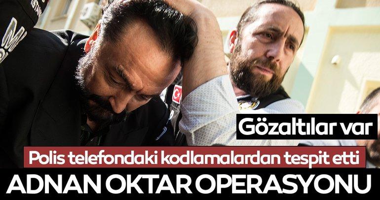Balıkesir'de Adnan Oktar suç örgütüne operasyon