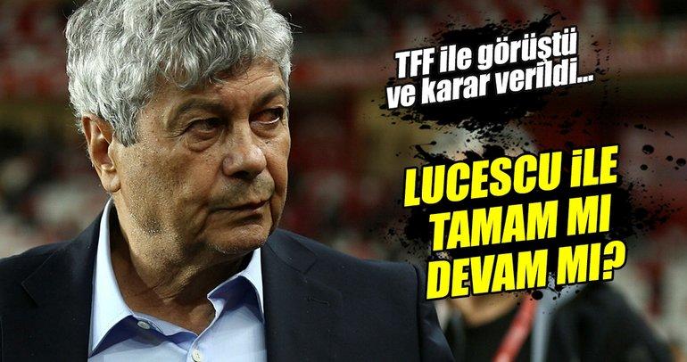 TFF, Lucescu ile yola devam ediyor!