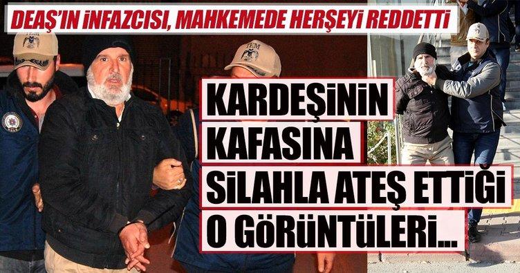 Kayseri'de yakalanan DEAŞ'ın infazcısı, Emniyet'te tercüman eşliğinde verdiği savunmasını inkar etti