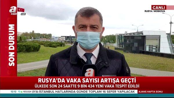 Rusya'da koronavirüs kabusu sürüyor! Son rakamlar açıklandı
