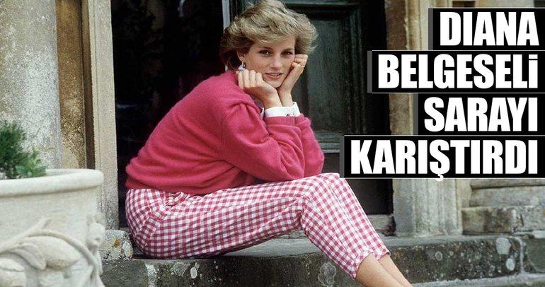 Diana belgeseli sarayı karıştırdı