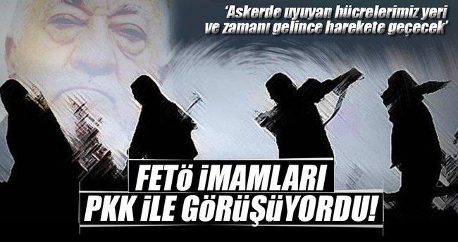 Gizli tanık: FETÖ imamları PKK ile görüşüyordu
