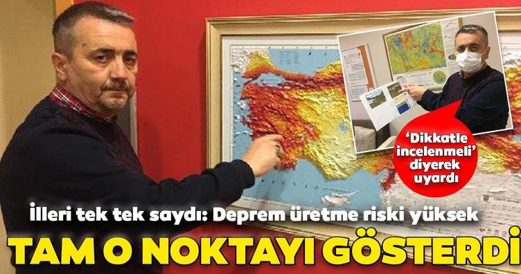 Son dakika: Fay hattındaki kritik noktayı göstererek uyardı: Deprem üretme riski yüksek, dikkatle incelenmeli...