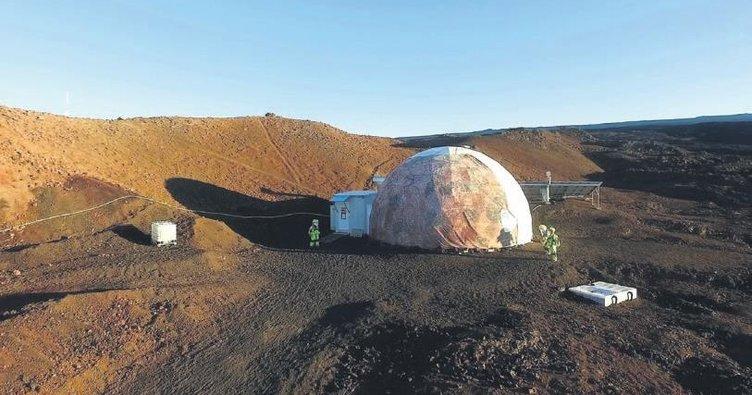 'Mars'ta 8 aylık esaret sona erdi