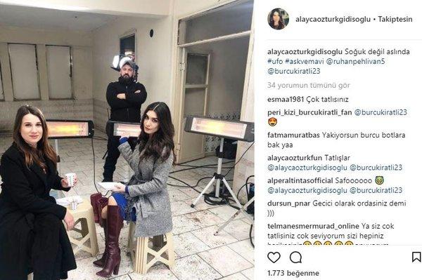 Ünlü isimlerin Instagram paylaşımları (21.01.2018)