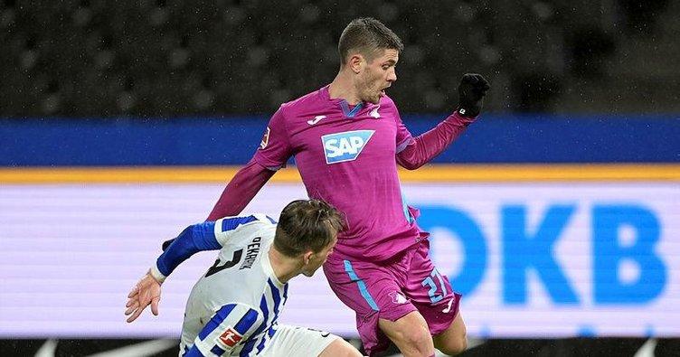Hoffenheim deplasmanda farka gitti! Hertha Berlin 0-3 Hoffenheim   GOLLERİ İZLE