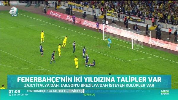 Fenerbahçeli Zajc ve Jailson'a talipler var