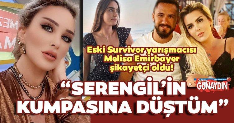 Son dakika haberler... Selin Ciğerci'nin eşi Gökhan Çıra ile ilişkisi olduğu konuşulan eski Survivor yarışmacısı Melisa Emirbayer şikayetçi oldu!