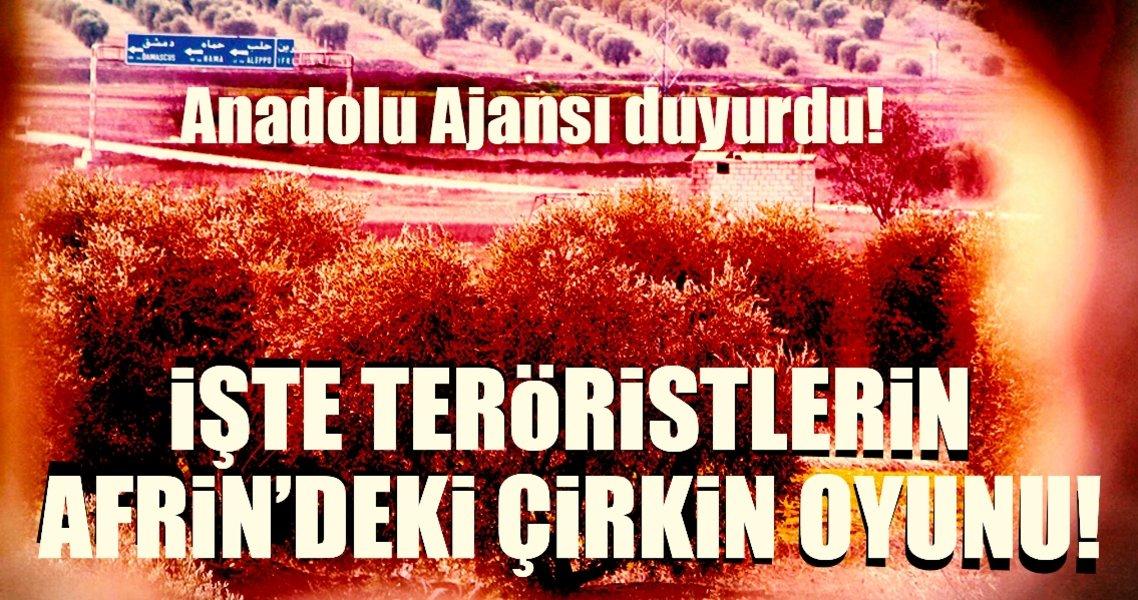 Son Dakika Haberi: İşte Afrin'deki PYD/PKK'lı hainlerin son oyunu!