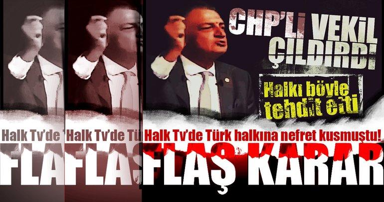 CHP'li Hüsnü Bozkurt hakkında flaş karar!