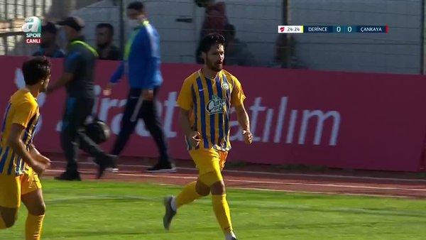 GOL   Bld. Derincespor 1-0 Çankaya FK