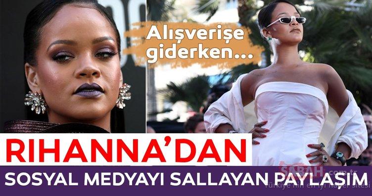 Rihanna'dan sosyal medyayı sallayan paylaşım! İşte Rihanna'nın ilginç özellikleri...