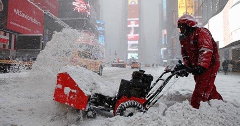 ABD son yılların en soğuk kışını yaşıyor