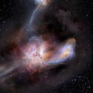 En parlak galaksi W2246-0526 komşularını yiyor