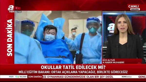Türkiye'de koronavirüs sebebiyle okullar tatil edilecek mi? | Video