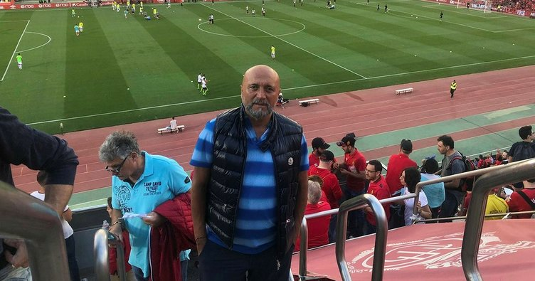 Hikmet Karaman Mallorca - Albacete maçında