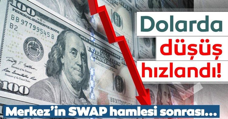 SON DAKİKA! Dolarda düşüş devam ediyor! Swap hamlesi sonrası döviz piyasasındaki son gelişmeler