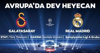 CANLI | Galatasaray - Real Madrid