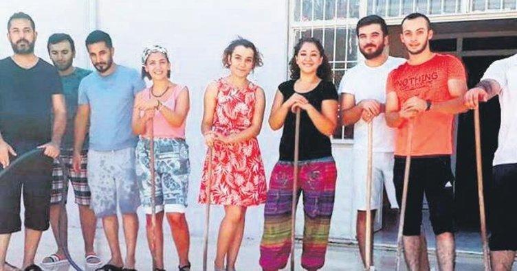 Öğretmenler ter döktü: Okullar pırıl pırıl