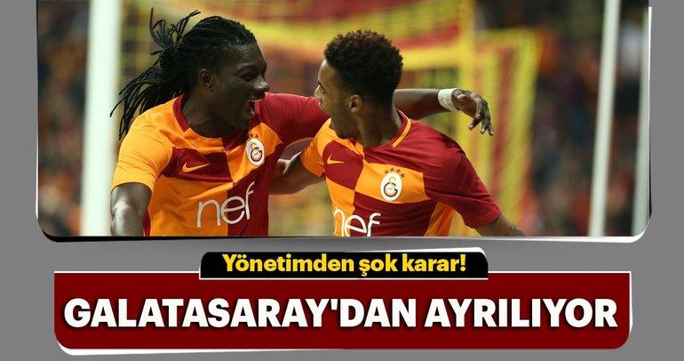 Galatasaray Yönetimi'nden Gomis ve Rodrigues için şok karar!