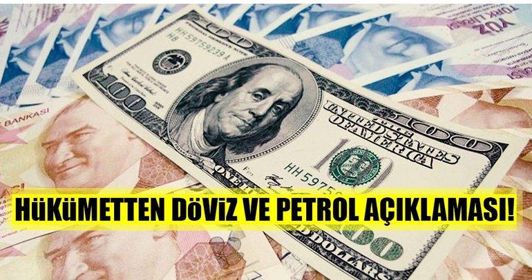 Maliye Bakanı Ağbal'dan flaş döviz ve petrol açıklaması