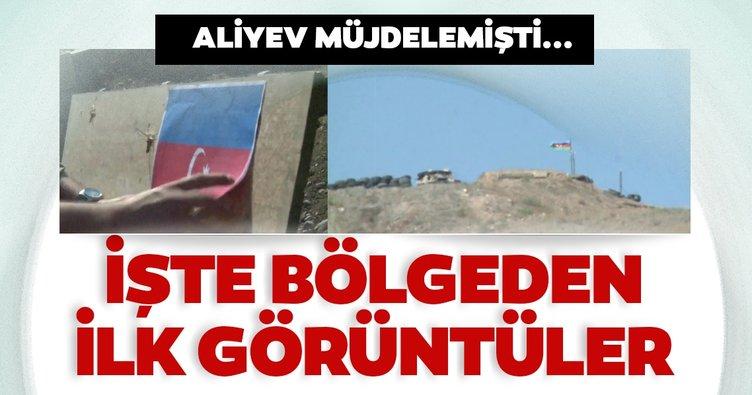 Son Dakika Haberi! Aliyev müjdelemişti! Bölgeden ilk görüntüler paylaşıldı