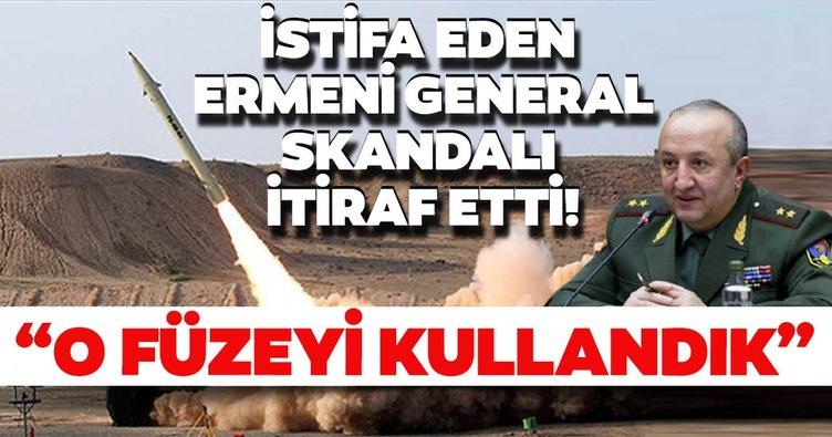 Ermeni generalden skandal itiraf