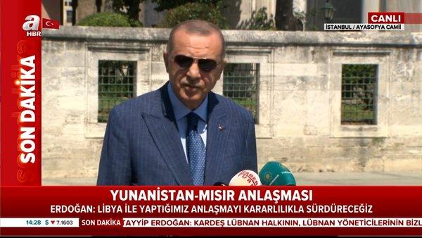Son Dakika Haberi | Cumhurbaşkanı Erdoğan'dan flaş Yunanistan açıklaması 'Sözlerinde durmadılar' | Video