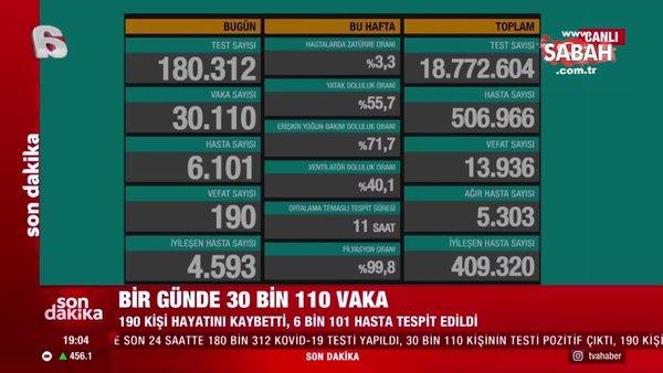 SON DAKİKA HABERİ: Sağlık Bakanı Fahrettin Koca 1 Aralık hasta ve vaka sayılarını açıkladı! İşte 1 Aralık koronavirüs tablosu