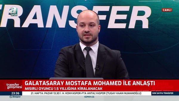 Son dakika: Galatasaray Mostafa Mohamed transferinde sona geldi! İZLE