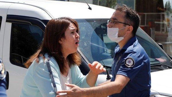 Ankara'da karısını öldüren koca karısının patronunu da ağır yaraladı   Video