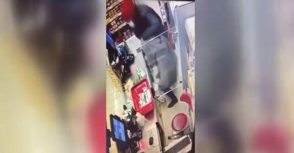 Market yağmacıları 50 kamera izlenerek yakalandı!