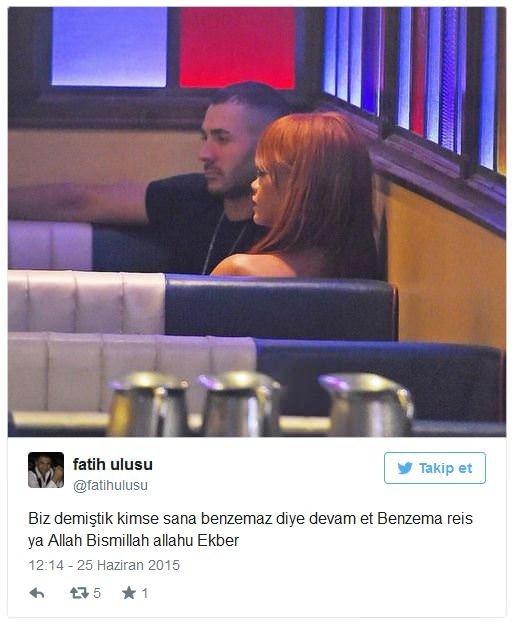 Rihanna ve Benzema İlişkisi İnsanları Çok Şaşırttı!