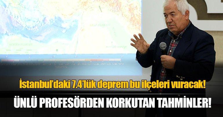 Profesörden Marmara için korkutan deprem tahminleri!